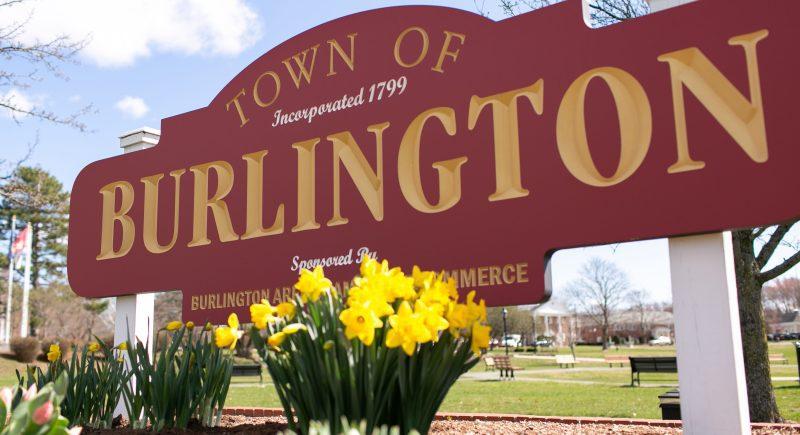 welcome to burlington - mall road corridor